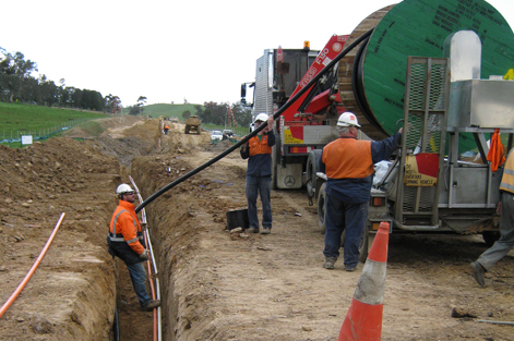 High Voltage Cable Installation - North South Pipline